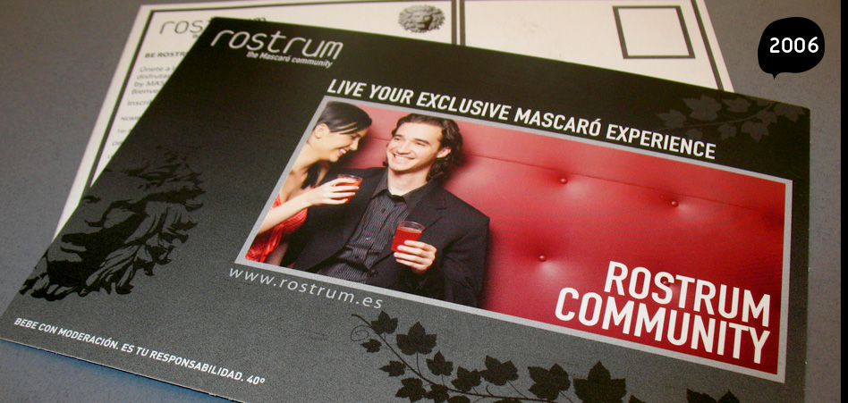 Rostrum community business cards, leaflets