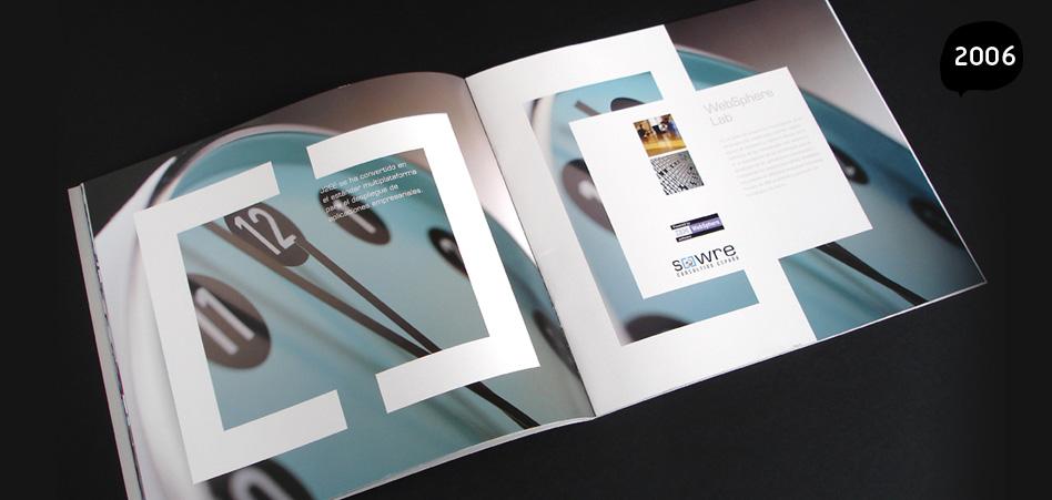 Catàleg corporatiu  Sowre, disseny grafic